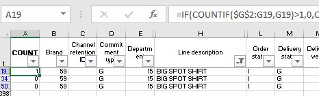Remove Duplicates Single Occurrence example 1