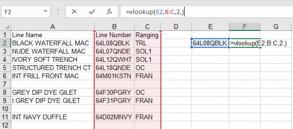 How to VLOOKUP Example 2
