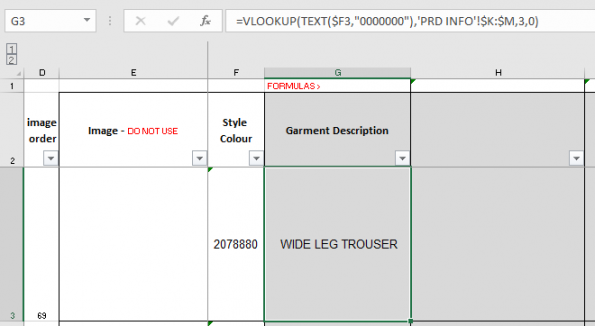 How to combine the VLOOKUP and TEXT Functions